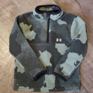 Under Armour Camo Boys 2T fleece